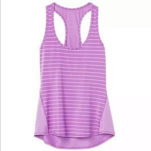 Athleta • Chi Tank Racerback Striped